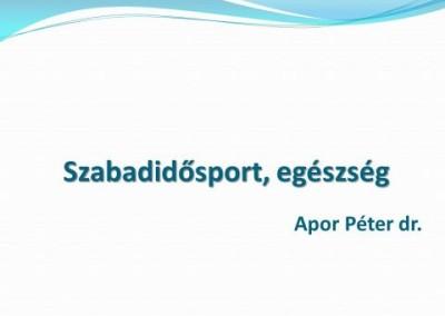 A sport mindenkié: A részvétel már győzelem 2012. március 22