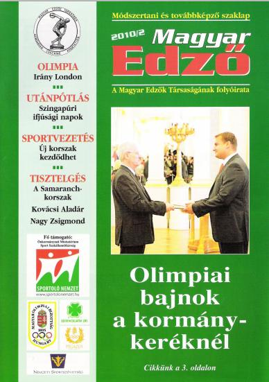 Magyar Edző 2010-2