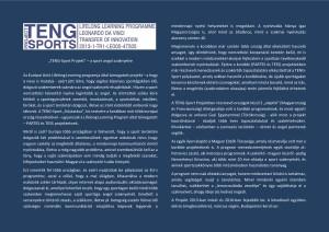 TENG  project-a sport angol szaknyelve II