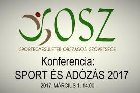 Sport és adózás 2017 SOSZ konferencia