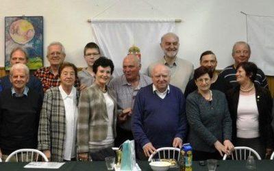 Ezüstjubileumát ünnepelte a Csanádi Árpád Olimpiai Baráti Kör