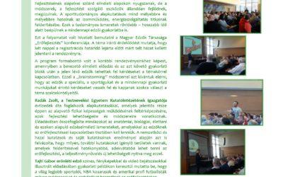 Erőfejlesztés konferencia összefoglaló  2017.március.16.
