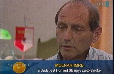 Elhunyt Molnár Imre a BHSE elnöke