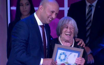 Keleti Ágnest Izrael-díjjal tüntették ki Jeruzsálemben
