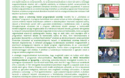 Magyar Kézilabda Szövetség szakmai stratégiája konferencia összefoglaló
