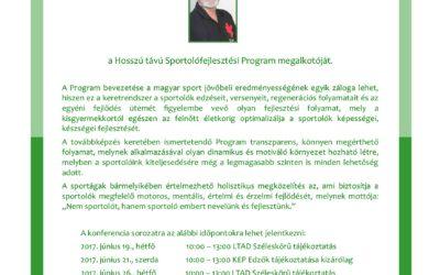 Hosszú távú Sportolófejlesztési Program