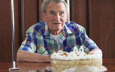 A 88 éves Zarándi Lászlót ünnepelték a TF-en
