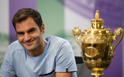 Roger Federer extra trófeájáról
