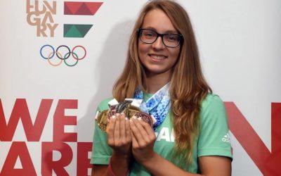 Nagy Réka a legjobb fiatal európai sportoló-díj jelöltjei közt