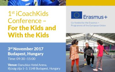 For the Kids  and With the Kids  nemzetközi konferencia november 3