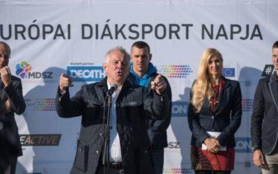 Olimpikonok is népszerűsítik az Európai Diáksport Napját – Schmitt Pál az egyik fővédnök