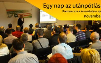 Egy nap az utánpótlásért  konferencia november 29