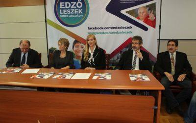 Az edzői hivatást népszerűsítette a  Magyar Edzők Társasága a nyíregyházi egyetemen