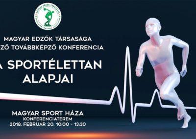 A sportélettan alapjai konferencia  2018.február.20.