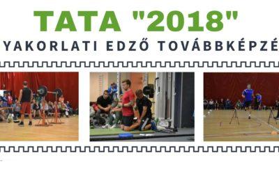 """Tata """"2018"""" gyakorlati edző továbbképzés"""