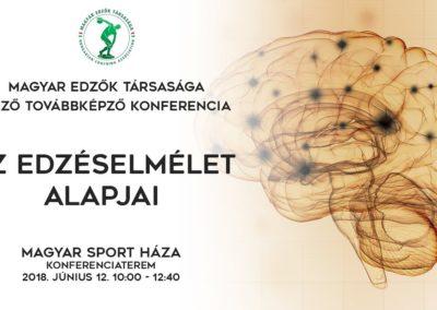 Az edzéselmélet alapjai konferencia 2018.június.12.