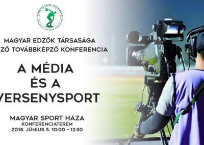 Média és versenysport konferencia 2018.június.5.
